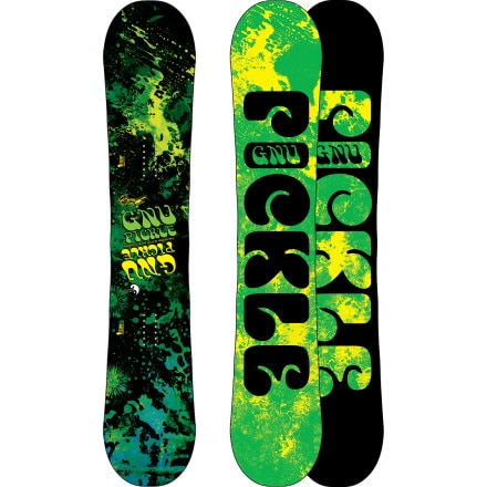 Shop for Gnu Park Pickle PBTX Snowboard - Wide