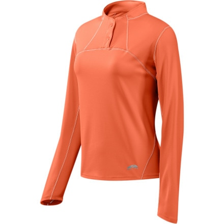 photo: GoLite Manitou Longsleeve 1/4-Snap Top long sleeve performance top