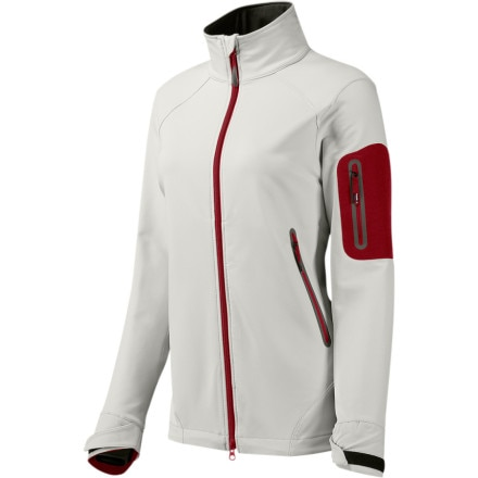photo: GoLite Women's Wind River Softshell Jacket soft shell jacket