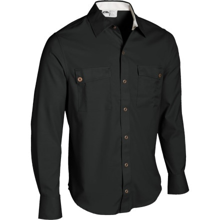 photo: GoLite Men's Paparoa Longsleeve Travel Shirt