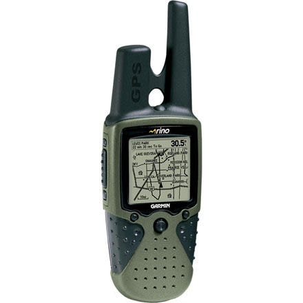 Garmin Rino 120 with Detailed Basemap