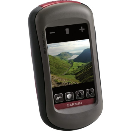 photo: Garmin Oregon 550t gps receiver