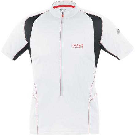 Gore Running Wear Magnitude 2.0 Zip-Neck Shirt - Short-Sleeve - Men's
