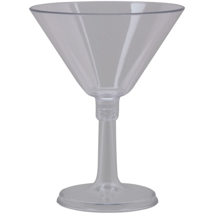 photo: GSI Lexan Resin Martini Glass