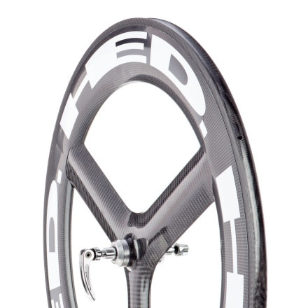 HED H3 Deep FR Carbon Tubular Front Wheel