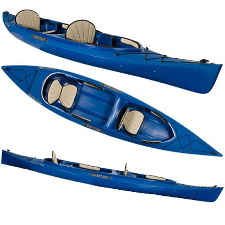 photo: Heritage Kayaks FeatherLite 14 Tandem recreational kayak