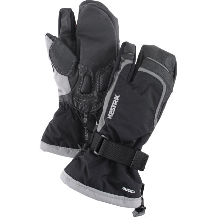 Hestra Czone Gauntlet 3-Finger Jr Glove