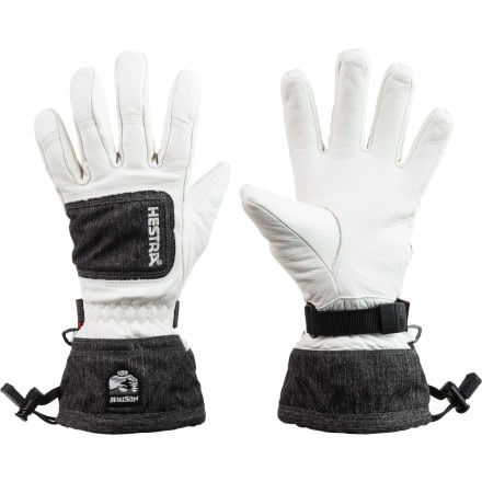 Hestra Leather Czone Powder Glove - Women's