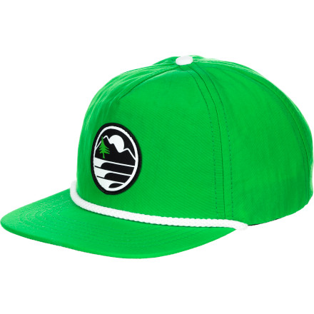 Hippy Tree Camper Snapback Hat