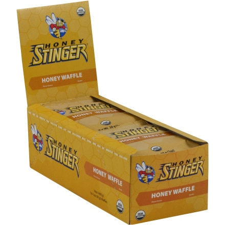 Honey Stinger Organic Stinger Waffles - LP