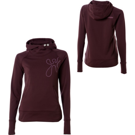 Houdini Transit Lounge Hooded Shirt - Long-Sleeve - Women's