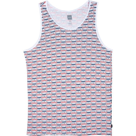 Huf Fuck It Tank Top - Men's