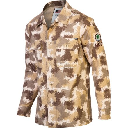 Huf Spray Camo BDU Jacket - Men's