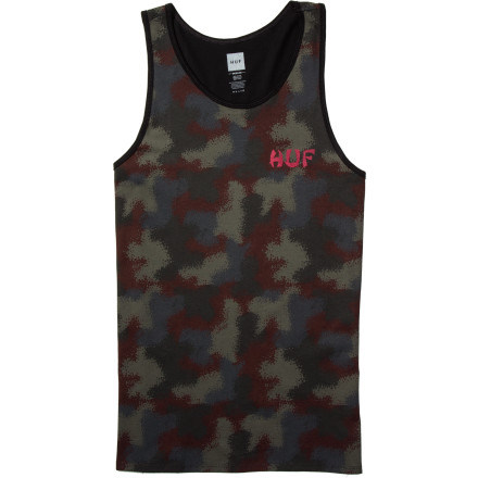 Huf Spray Camo Tank Top - Men's