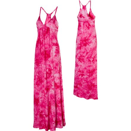 Hurley Missbehave Smocked YC Maxi Dress - Women's