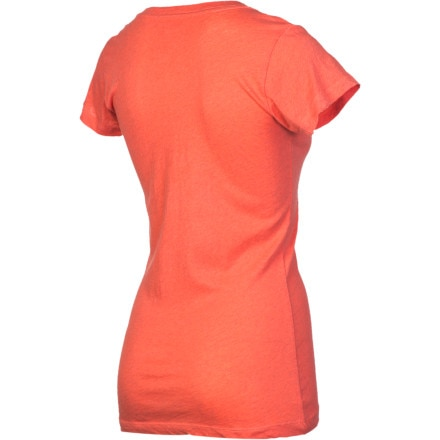 Hurley Solid Perfect V Heathered T-Shirt - Short-Sleeve - Women's