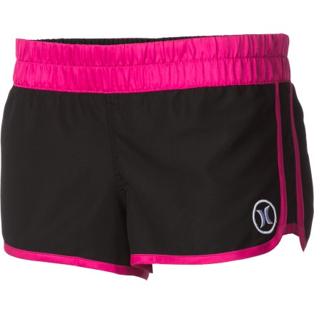 Hurley Supersuede Block Party Beachrider Board Short - Women's