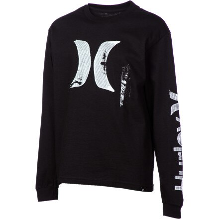 Hurley Scapher T-Shirt - Long-Sleeve - Boys'