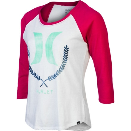 Hurley Switchbone Perfect Raglan T-Shirt - Long-Sleeve - Women's