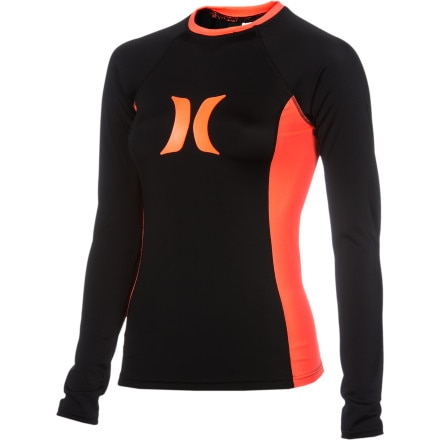 Hurley One & Only Solids Rashguard - Long-Sleeve - Women's