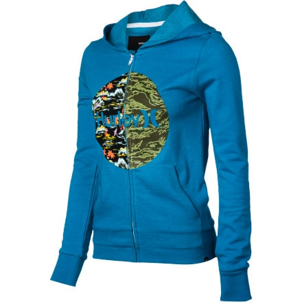 Hurley Half My Heart Full-Zip Hoodie - Women's