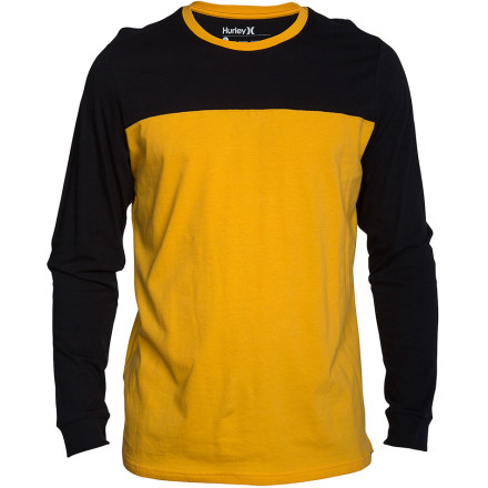 Hurley Staple Football T-Shirt - Long-Sleeve - Men's