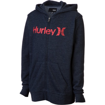 Hurley One And Only Full-Zip Hoodie - Boys'