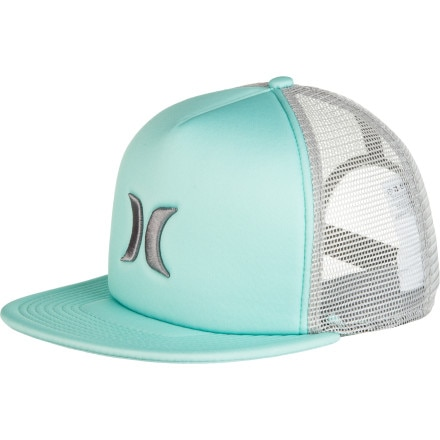 Hurley Blocked Trucker Hat