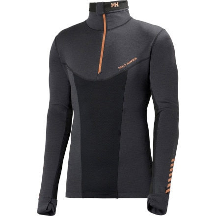 photo: Helly Hansen Warm Odin 1/2-Zip base layer top