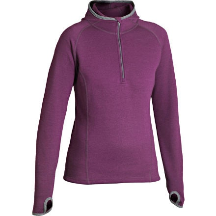 photo: Ibex Hooded Shak Jersey long sleeve performance top
