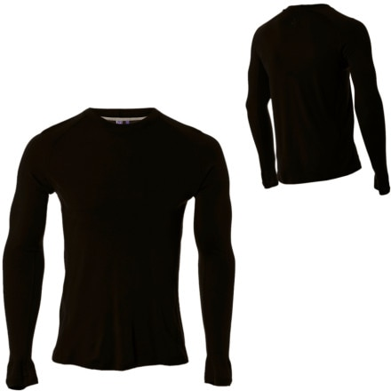photo: Ibex Men's Zepher Crew long sleeve performance top