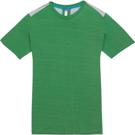 photo: Ibex Men's Echo T short sleeve performance top