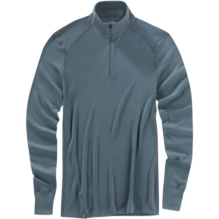 Ibex Woolies 220 Zip T-Shirt - Long-Sleeve - Men's