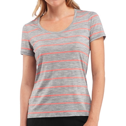 Icebreaker Tech Scoop Shirt - Short-Sleeve - Women's