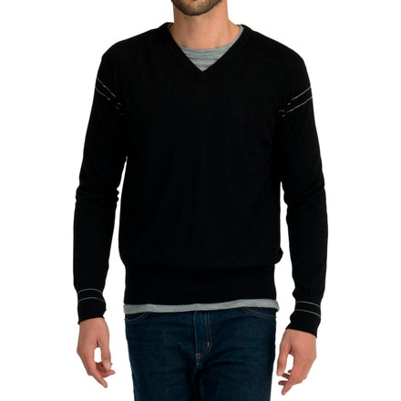 Icebreaker Aries V-Neck Sweater - Men's