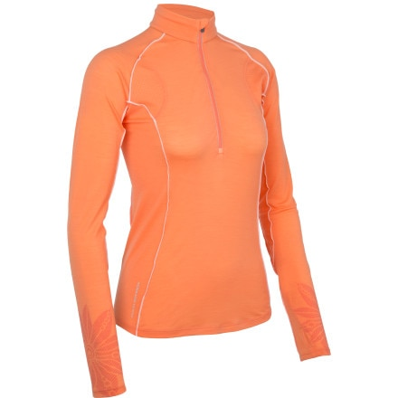 Icebreaker Flash Zip-Neck Top - Women's