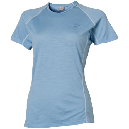 photo: Icebreaker Women's 200 Lightweight Contour Crewe base layer top