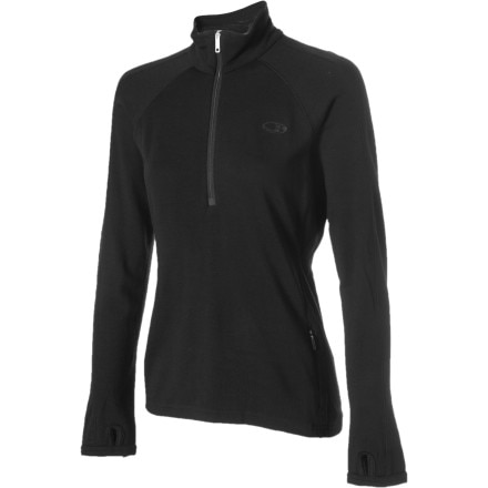 photo: Icebreaker Women's Sport 320 Tornado long sleeve performance top