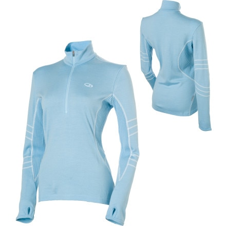 photo: Icebreaker Sport 320 LTD Powder long sleeve performance top