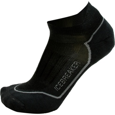 photo: Icebreaker Bike/Run Lite Micro Sock running sock