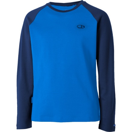 Icebreaker BodyFit260 Crew Long Sleeve - Toddler Boys'