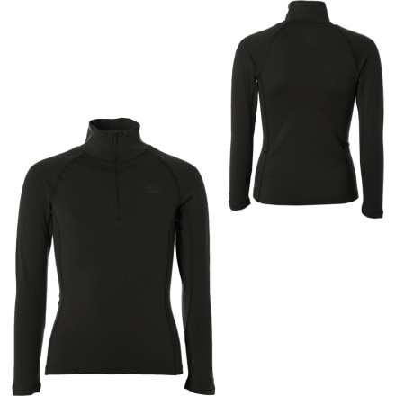 photo: Icebreaker Boys' 200 Lightweight Mondo Zip base layer top