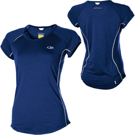 photo: Icebreaker Rush Crewe short sleeve performance top