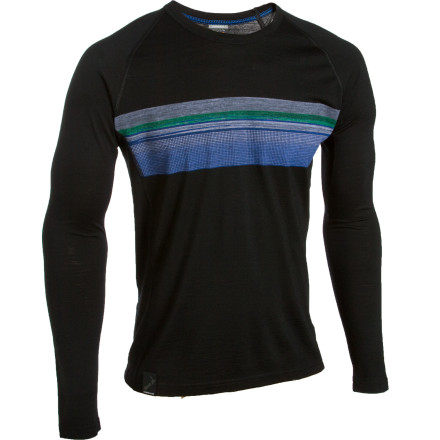photo: Icebreaker Oasis Crewe Approach base layer top