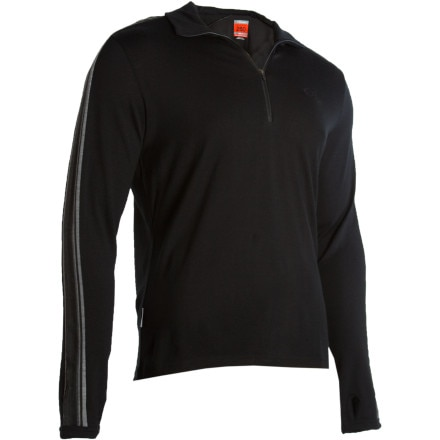 photo: Icebreaker 260 Midweight Apex Zip long sleeve performance top
