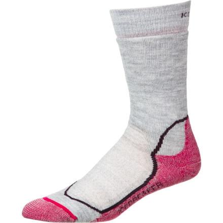 Icebreaker Hike+ Mid Crew Sock - Women's