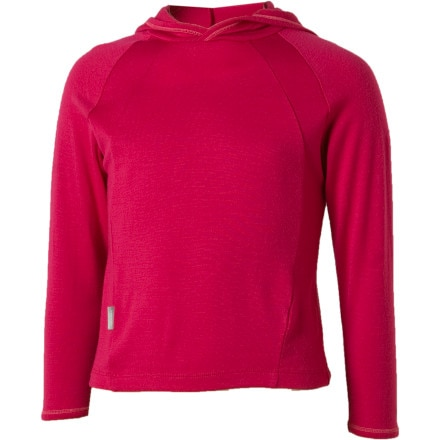 photo: Icebreaker Kids' BodyFit 260 Explorer Hoody base layer top