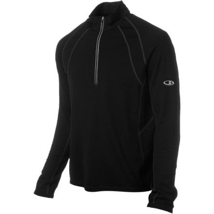 Icebreaker GT 200 Quest Zip-Neck Shirt - Long-Sleeve - Men's
