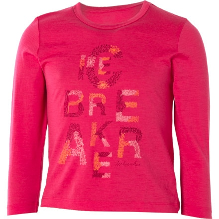 Icebreaker Bella T Garden T-Shirt - Long-Sleeve - Girls'