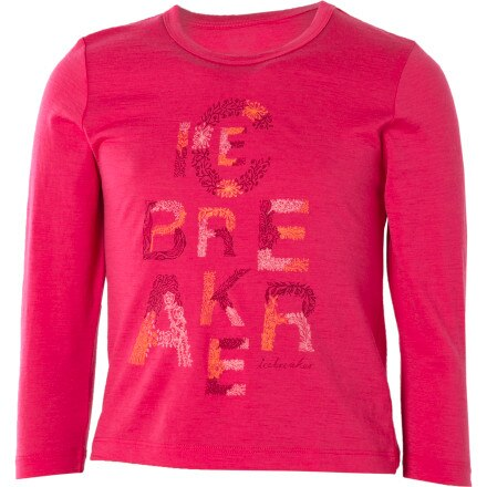 Icebreaker Bella T Garden Shirt - Long-Sleeve - Toddler Girls'